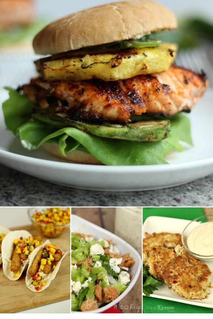collection of Easy Fish Meatless Meals