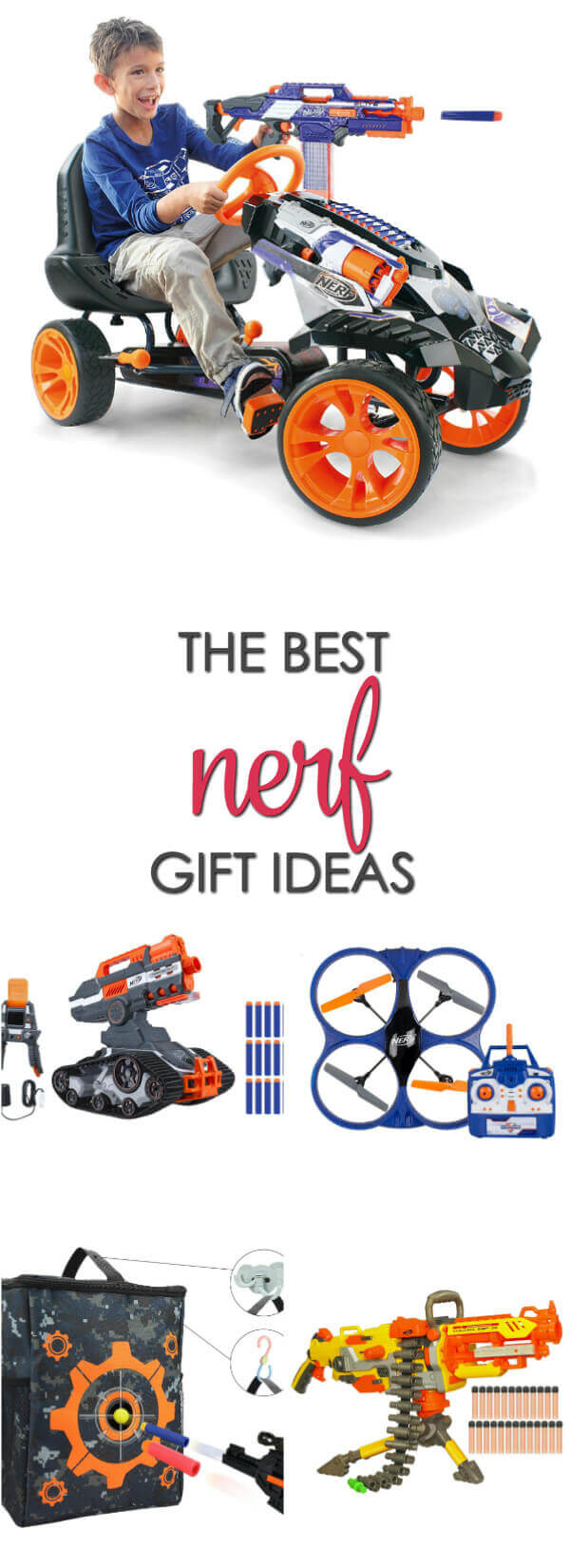 The BEST gift ideas for Nerf lovers of all ages