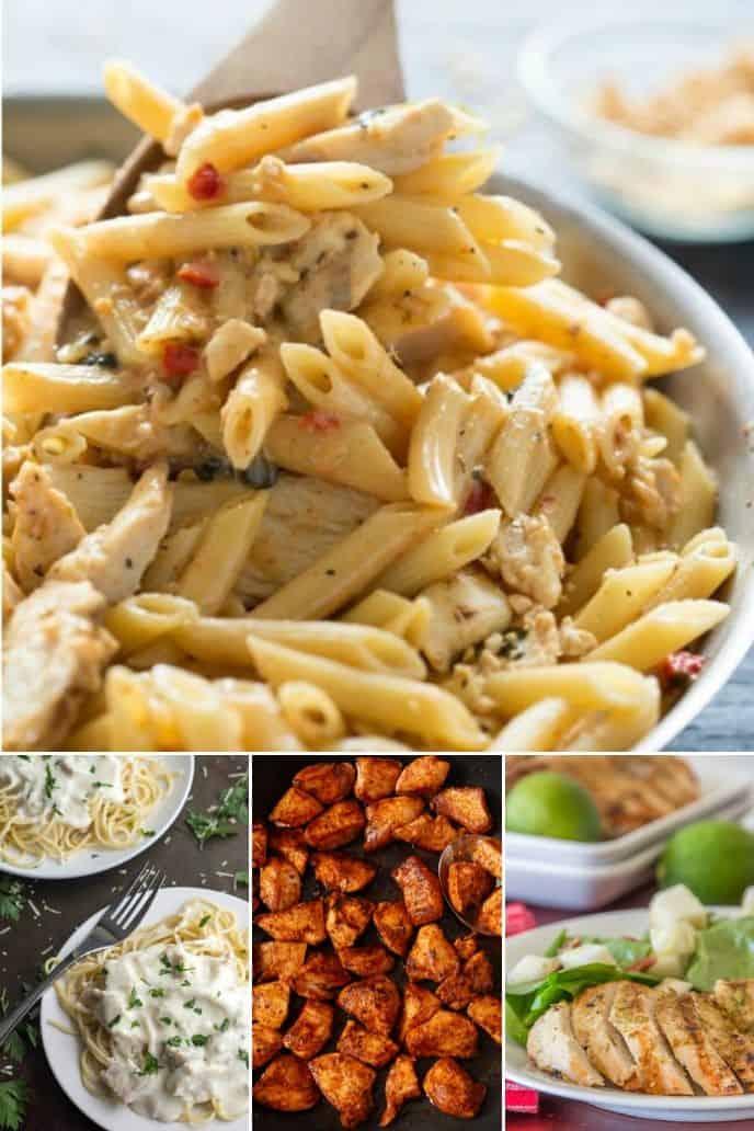 Dinner ideas for chicken