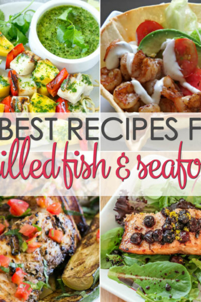 15 Grilled Seafood Recipes - easy grilled recipes for fish and seafood that will leave you wanting more