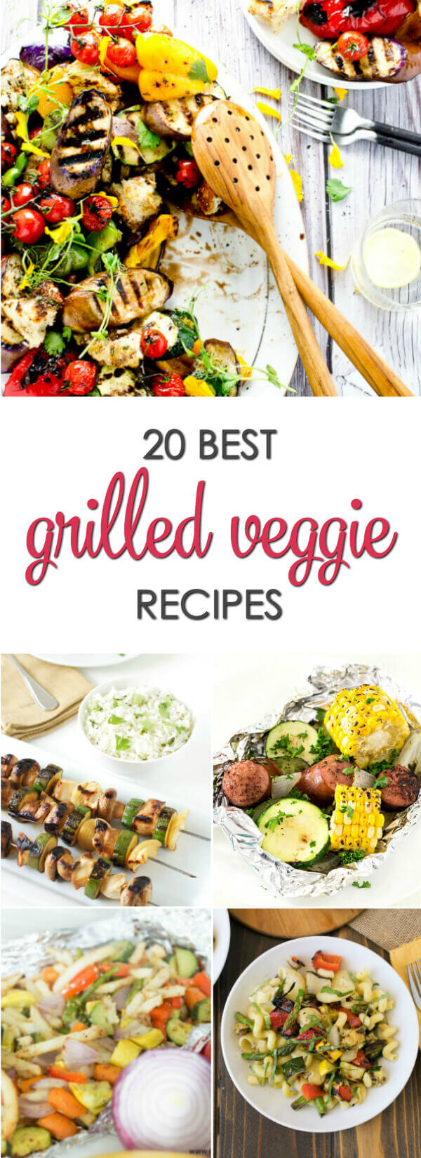 20 of the best grilled vegetable recipes that you and those picky eaters will love.