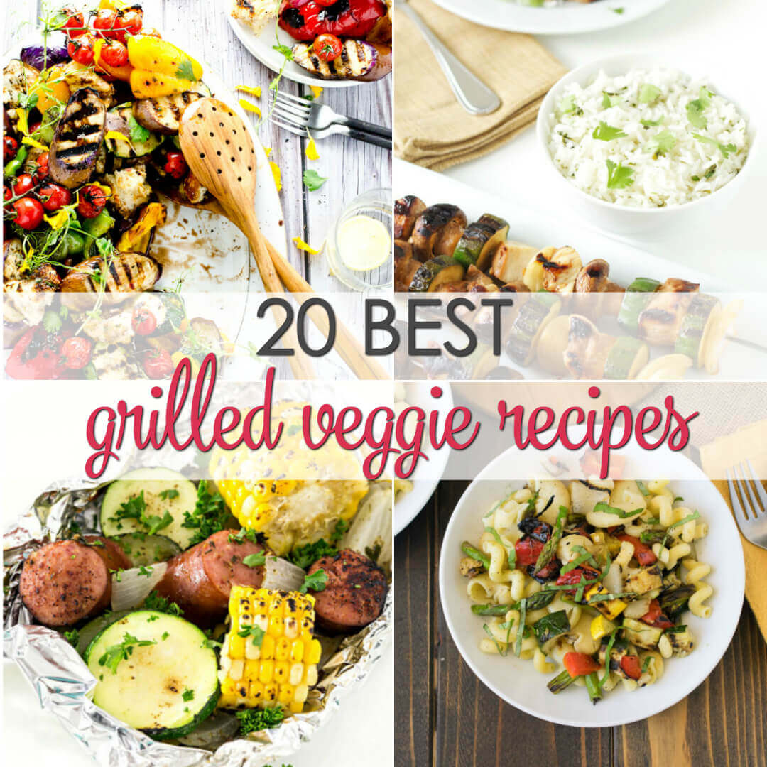 A collection of 20 Recipes for the Best Grilled Vegetables you'll be sure to enjoy.