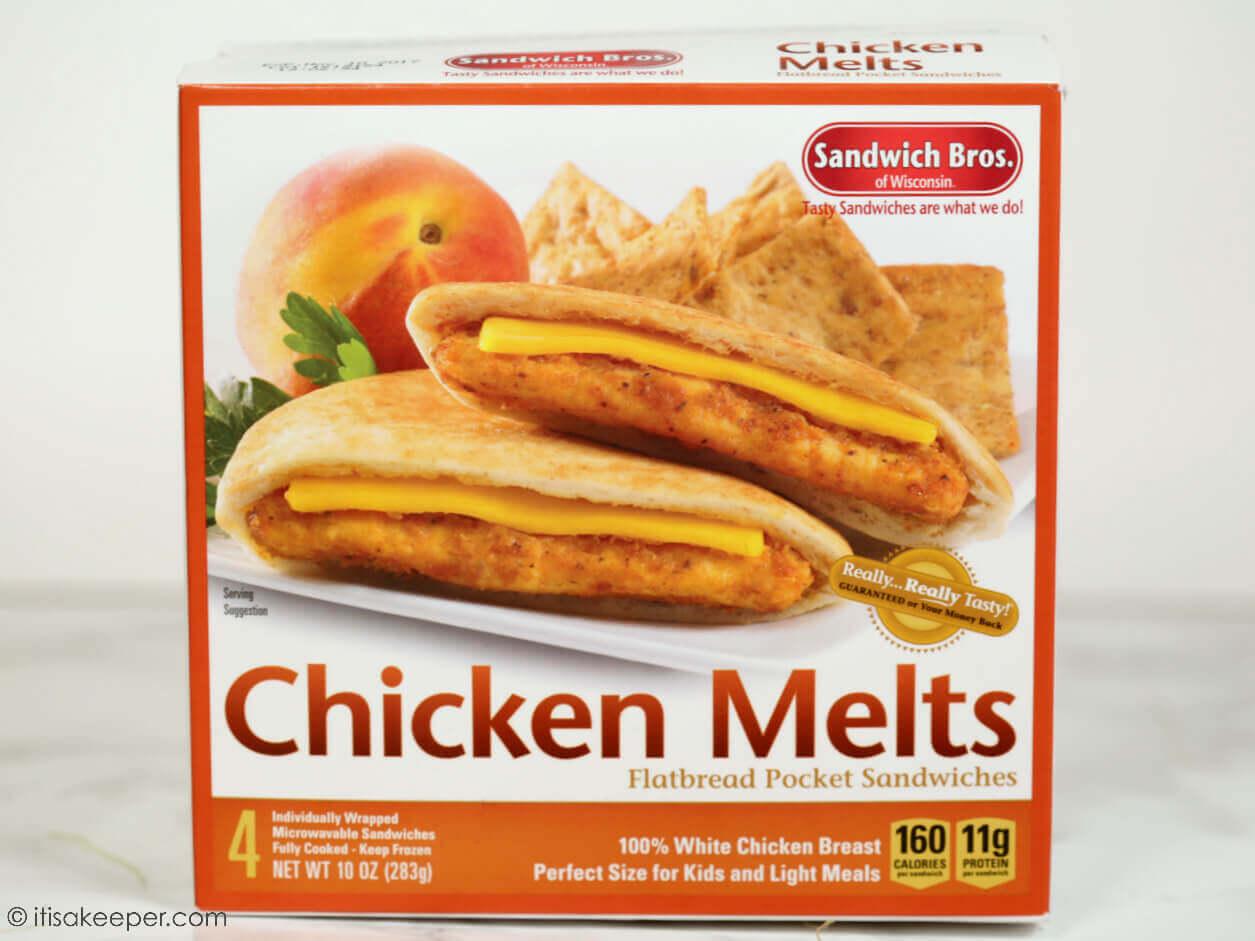 Chicken Melt box.