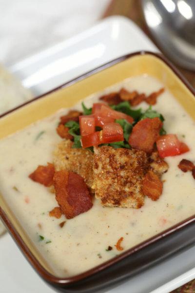 Creamy BLT Soup