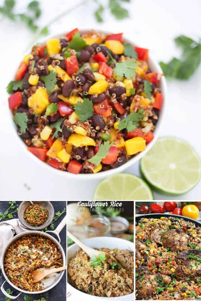 Collection of vegetarian mexican recipes