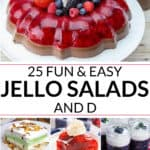 A collection of jello salad recipes