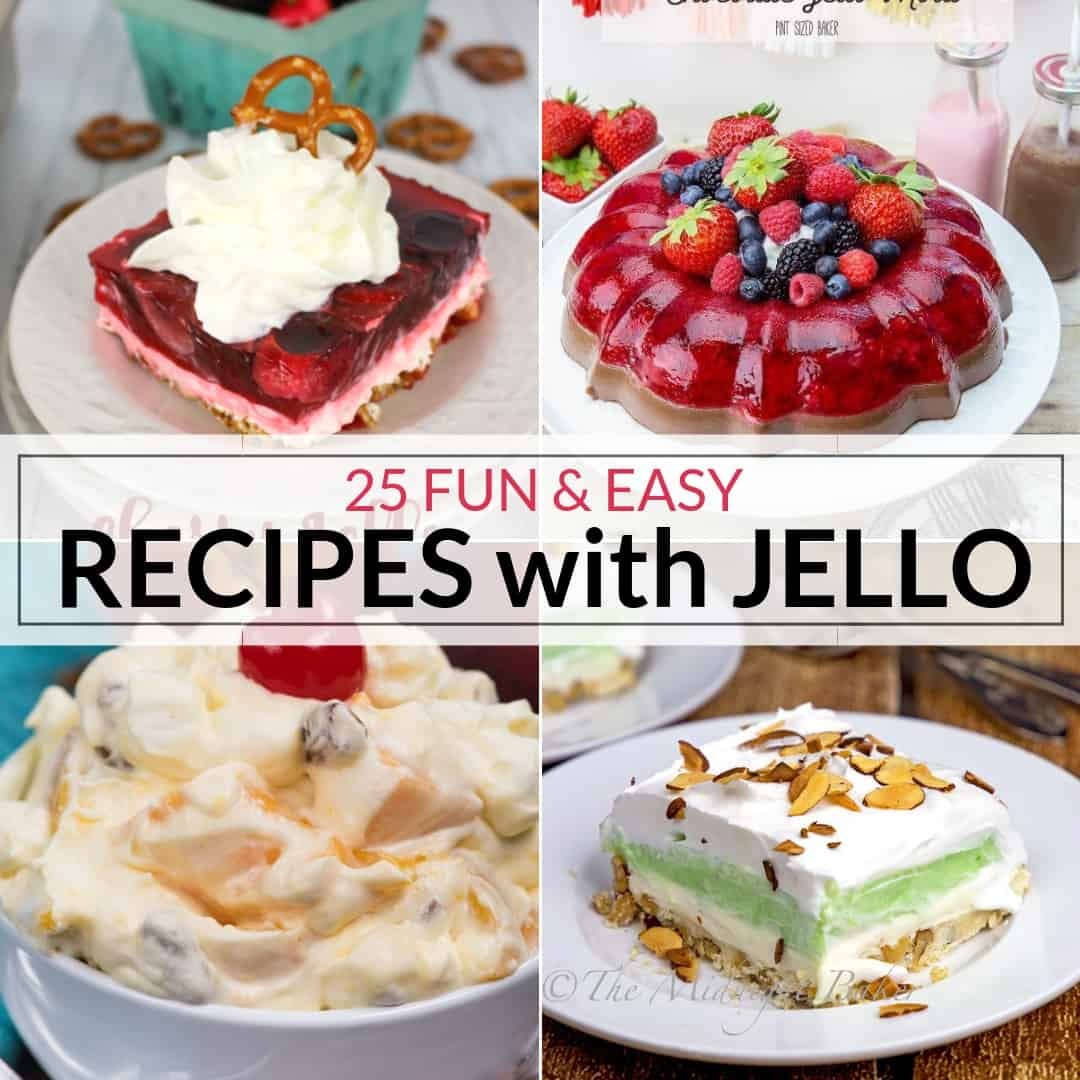 25 Fun And Easy Jello Salad Recipes It Is A Keeper