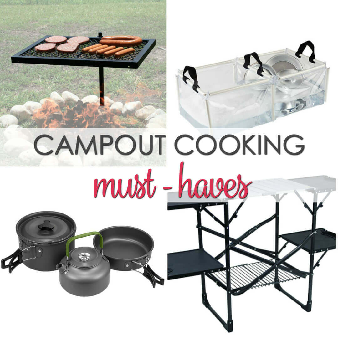 Must Have Camping Cooking Accessories - everything you need to make great meals while camping