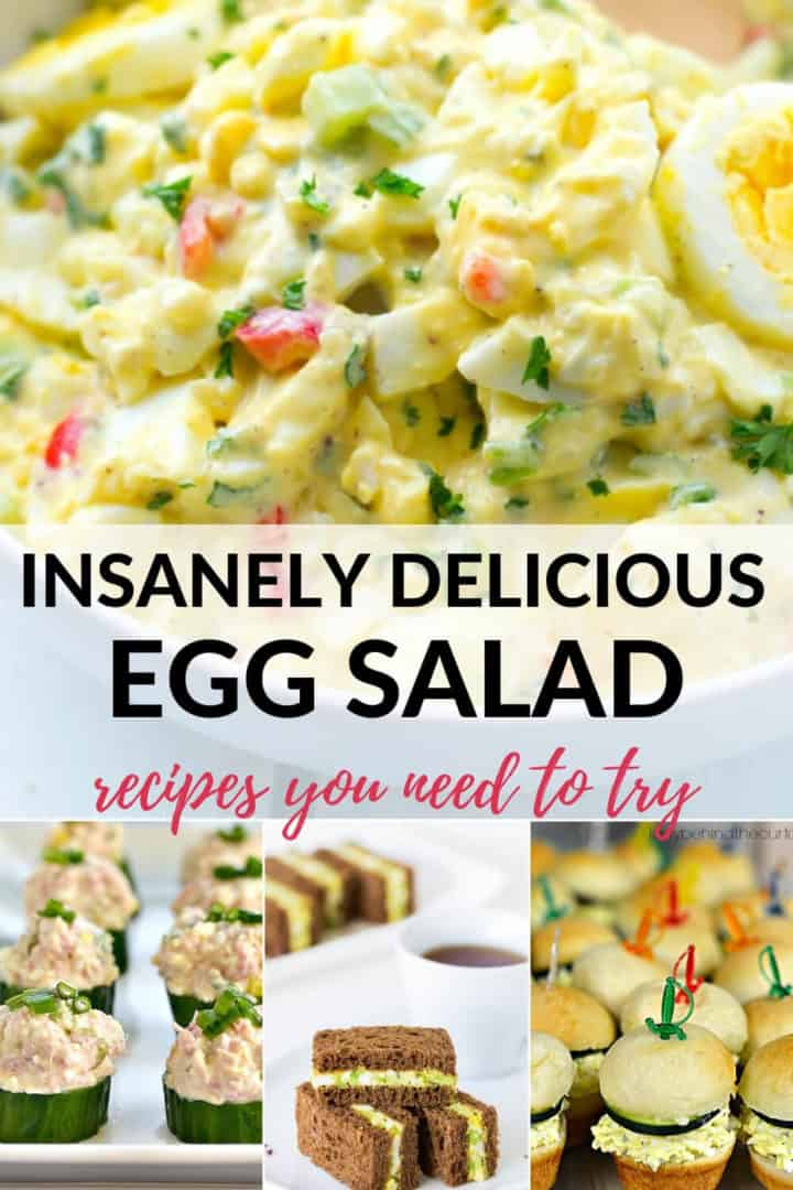 A collection of egg salad recipes