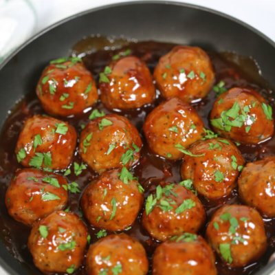 BBQ Bacon Meatballs