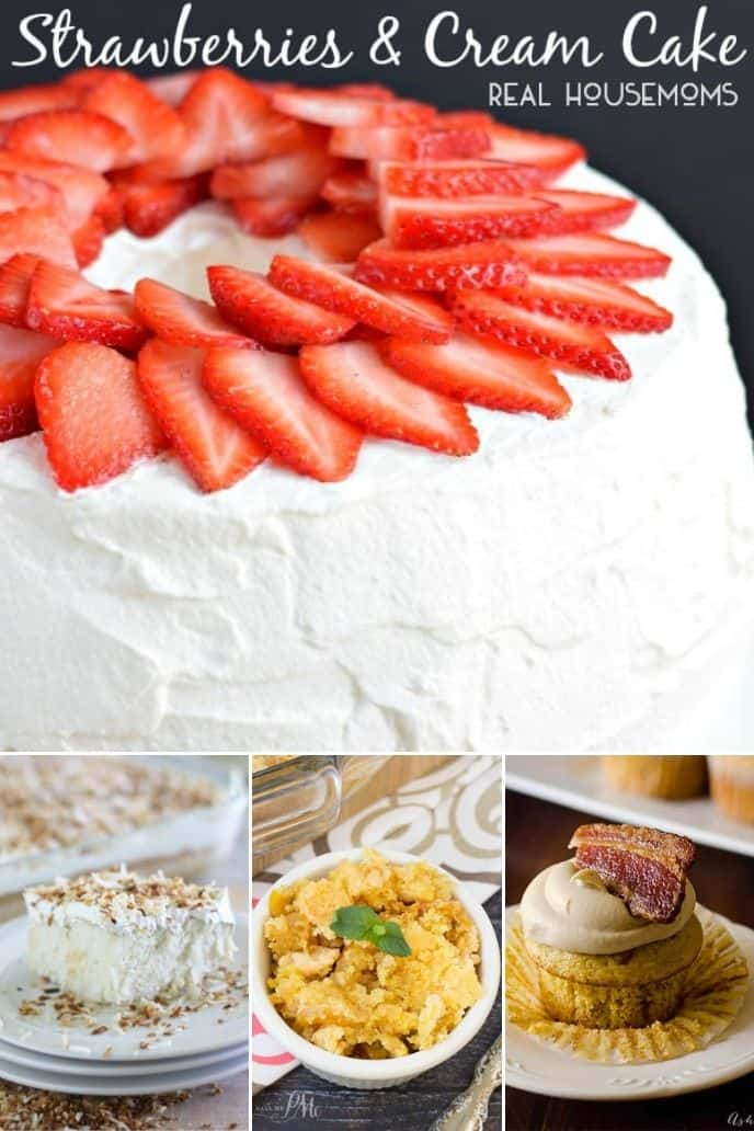 collection of boxed cake mix recipe