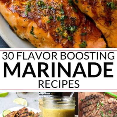 Flavor Boosting Marinade Recipes