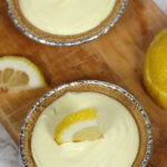 No Bake Lemon Tartlets