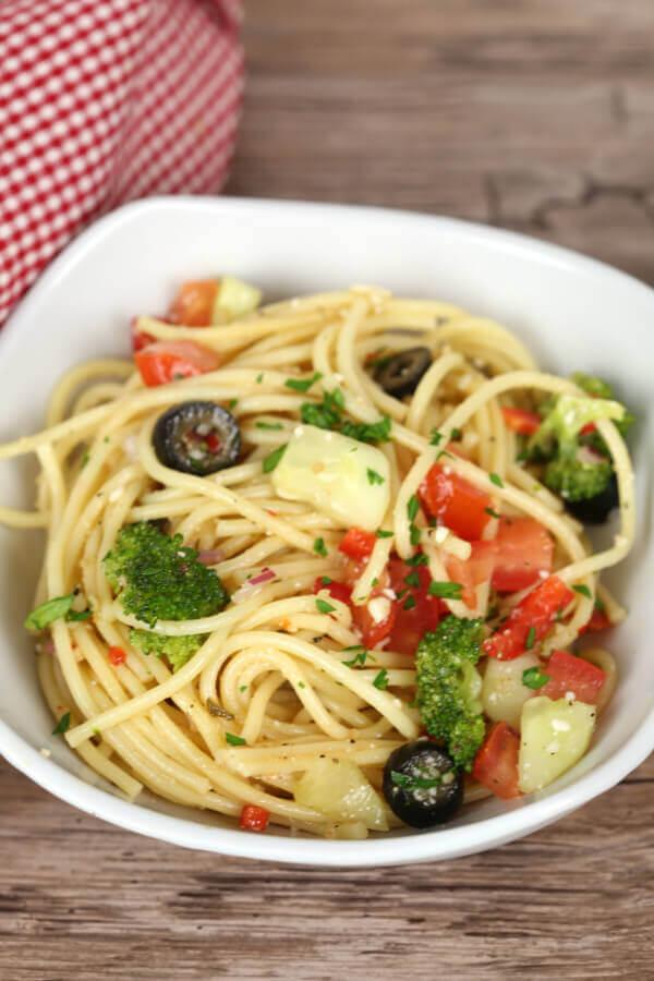 Spaghetti Salad Italian Dressing It Is A Keeper