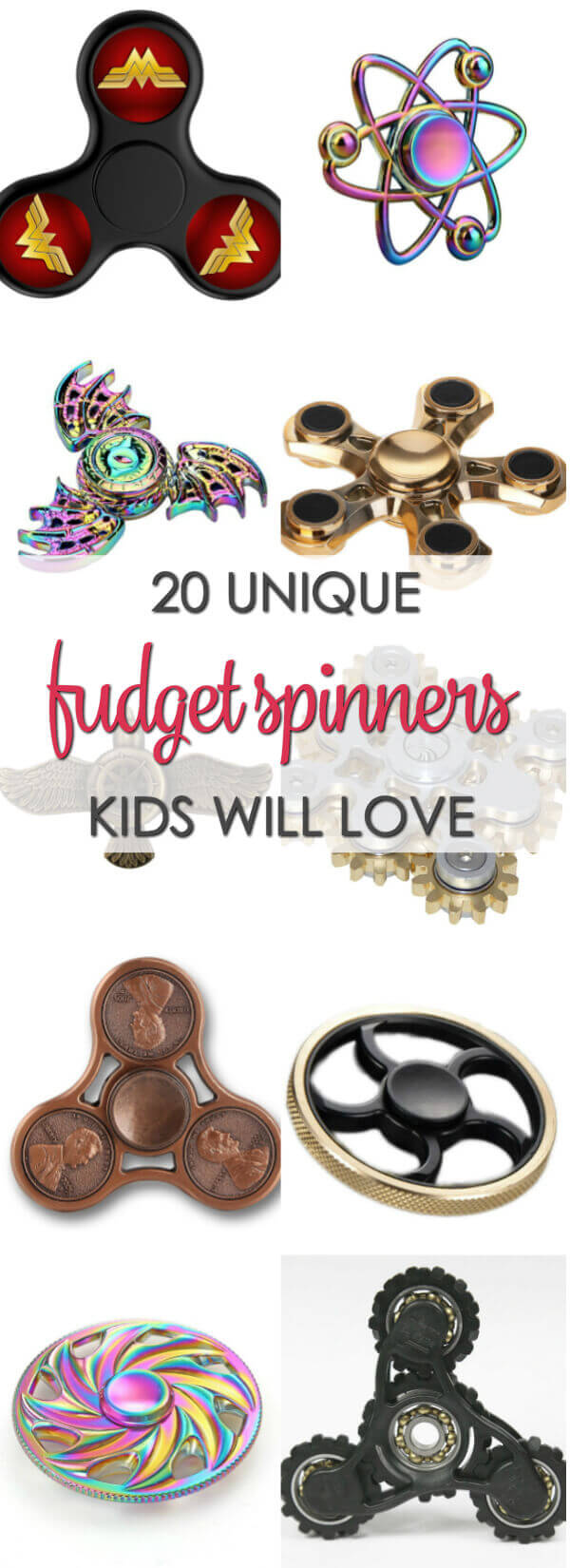 10 Unique Fidget Spinner - find some of the best fidget spinner toys