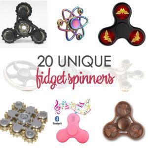 10 Unique Fidget Spinner - find some of the best fidget spinner toys