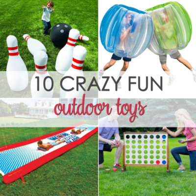 10 Crazy Fun Outdoor Summer Toys for All Ages