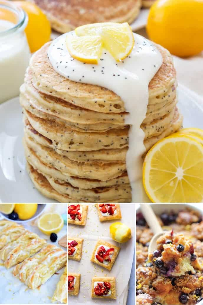 Breakfast Lemon Recipes