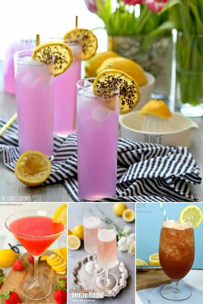 Collection of Lemon Drinks