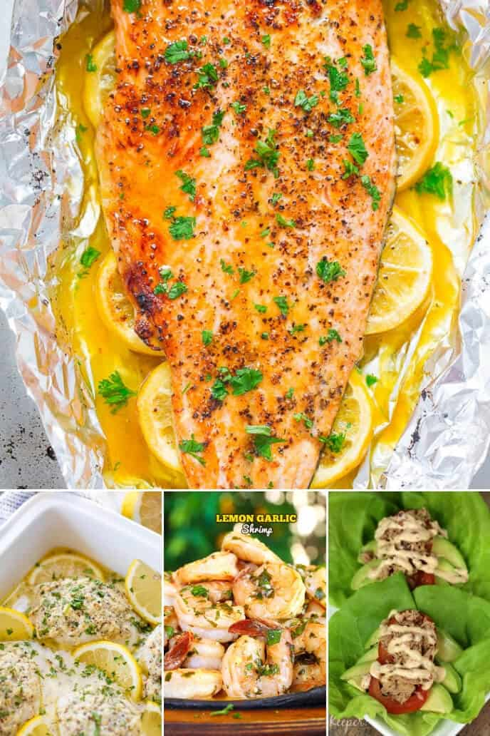 Collection of Lemon Fish Recipes
