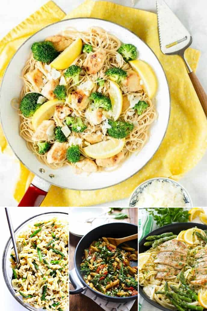 Collection of Lemon Pasta Recipes