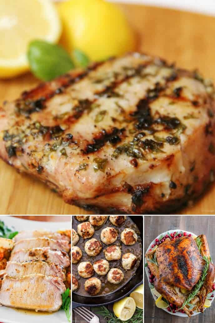 Collection of Lemon Recipes with Meat