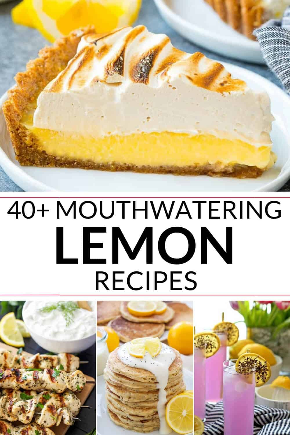 Collection of Mouthwatering Lemon Recipes