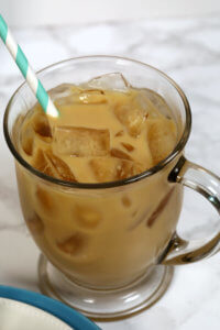 Protein Iced Coffee - this easy drink recipe is the perfect combination of a protein shake and iced coffee