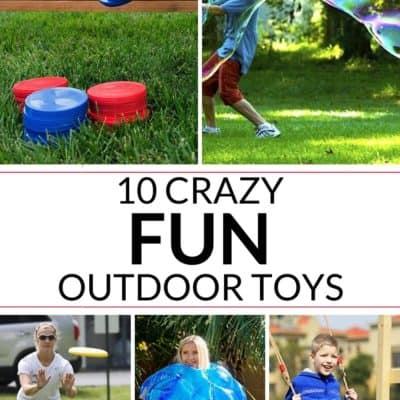 10 Crazy Fun Outdoor Toys for All Ages