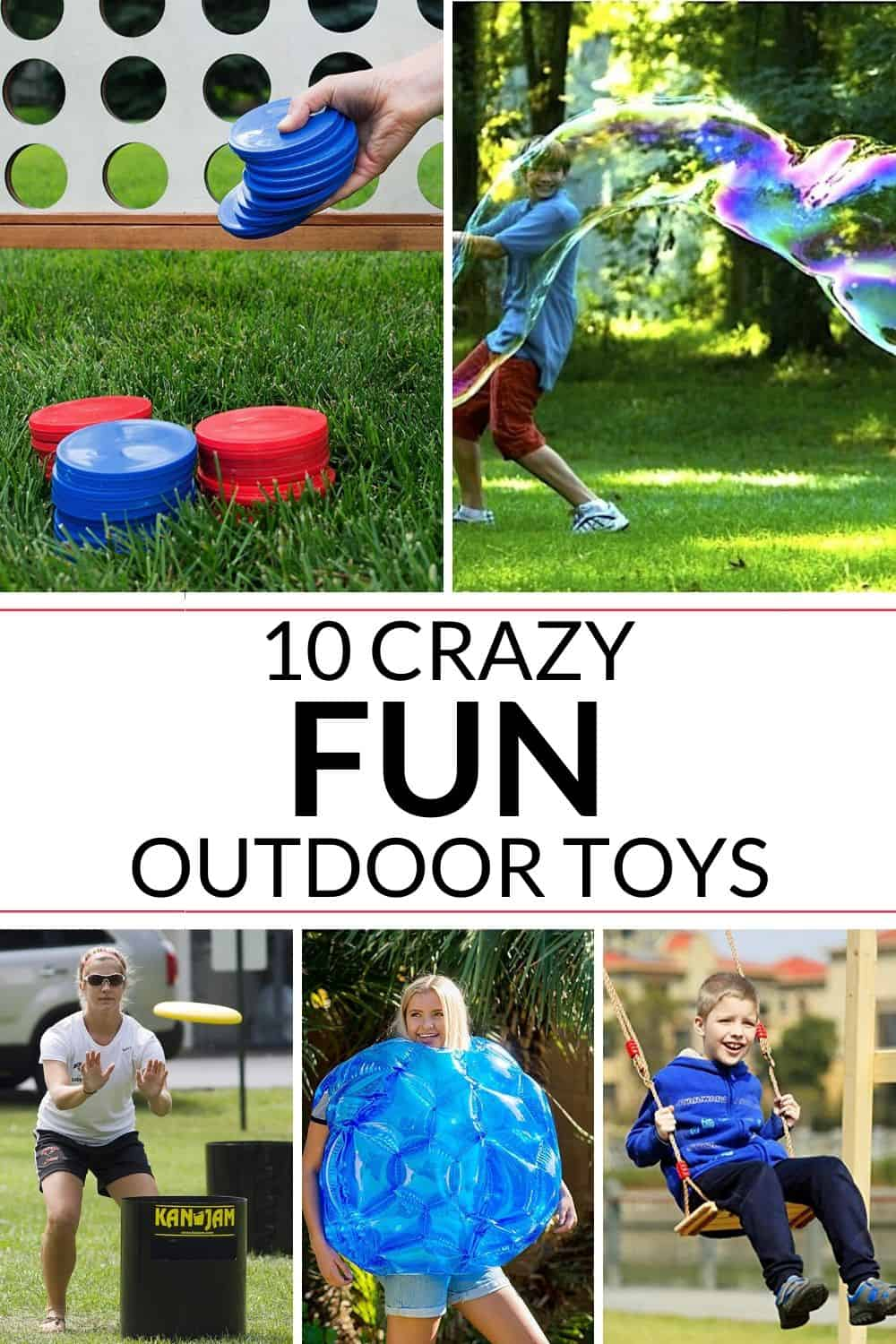 a super fun list of 10 awesome outdoor toys