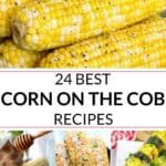 collection of corn on the cob recipes