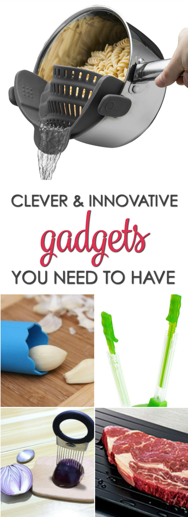 Clever Kitchen Gadgets You Need To Have