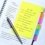Divider Sticky Notes