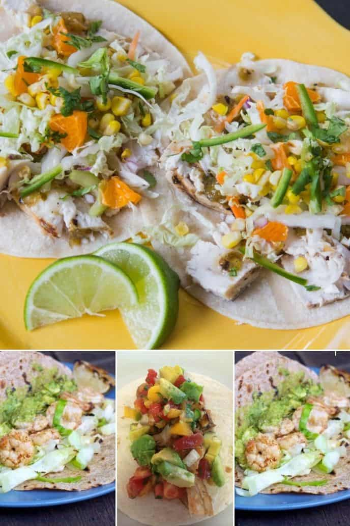 Try out these tacos on the grilled seafood recipes page!