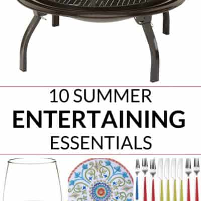 10 Summer Party Essentials