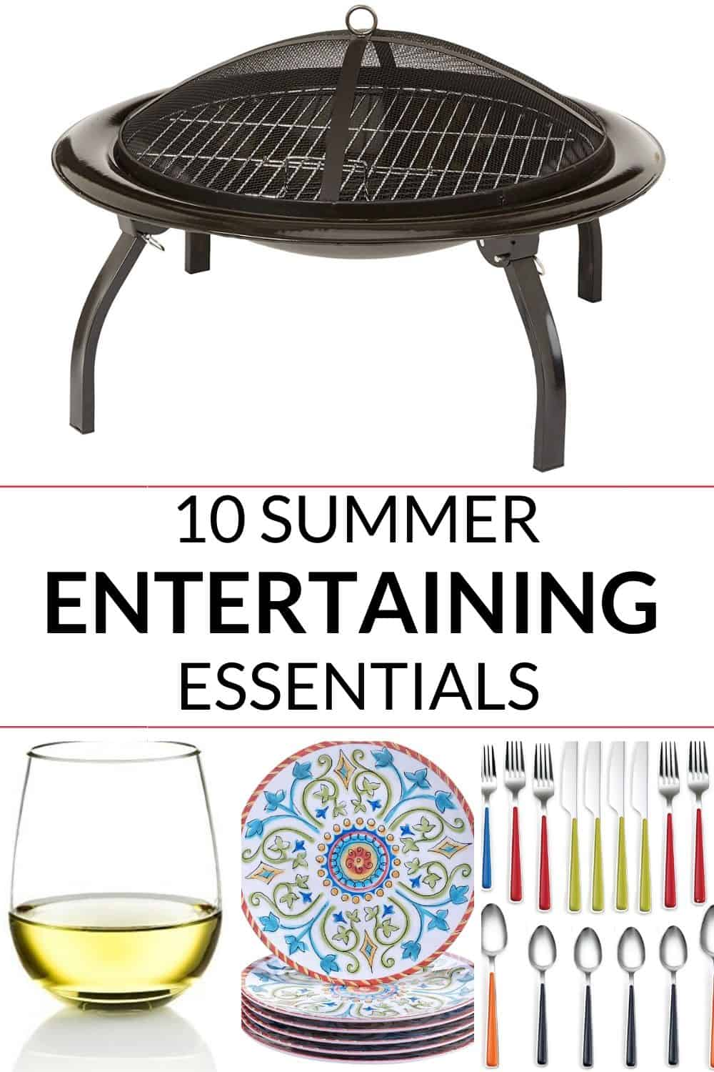 an awesome collection of summer party essentials that will take your summer parties to the next level