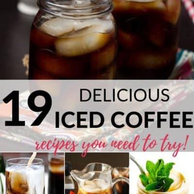 20 Refreshing Iced Coffee Recipes