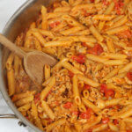 Chicken Cacciatore Pasta Skillet