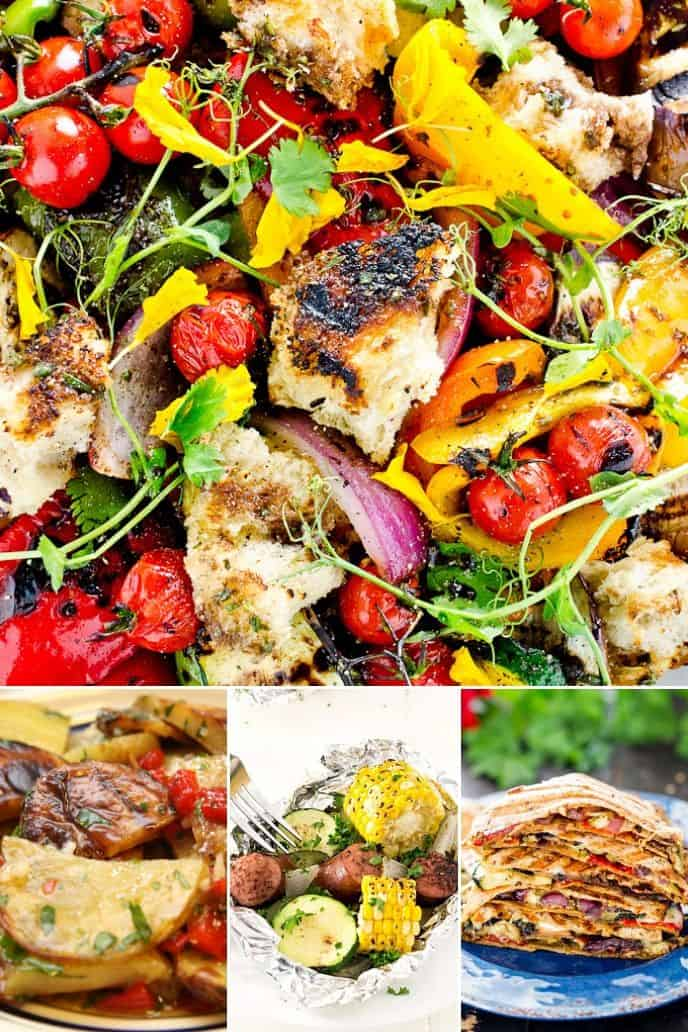 Here are some more delicious grilled vegetable recipes!