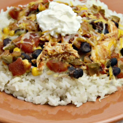 Slow Cooker Tex Mex Chicken