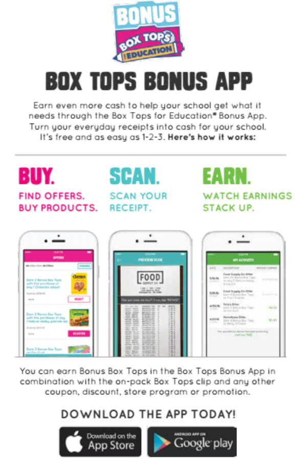 Tips for collecting the most Box Tops - Fill your Box Top collection sheets with these easy tips to get the most Box Tops 4 Education