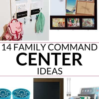 a great collection of the best 14 family ideas for a command center