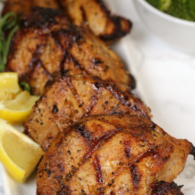 The Best Grilled Pork Chops