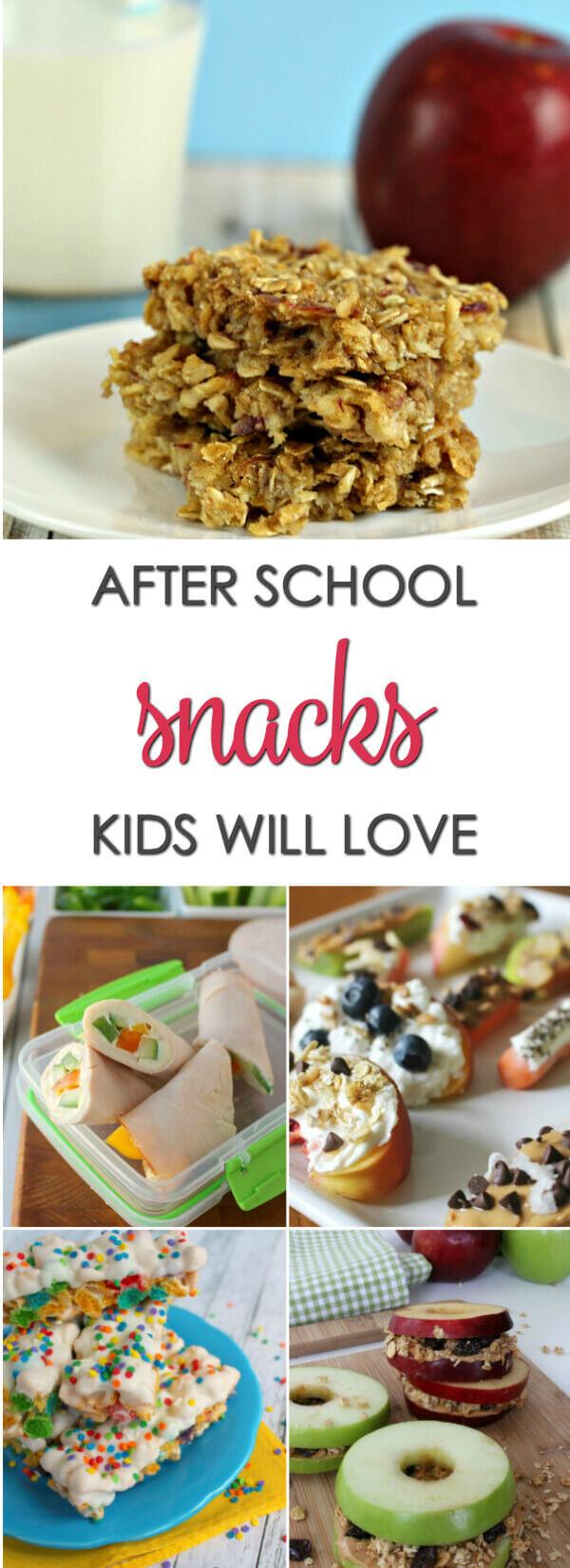 20 After School Snack Ideas Kids Will Love