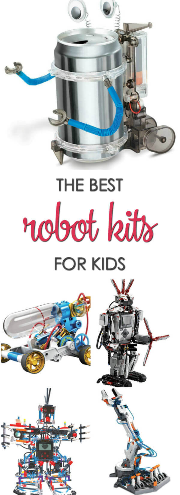 If your child loves to play with and build robots you have to check out these awesome robot kits for kids.
