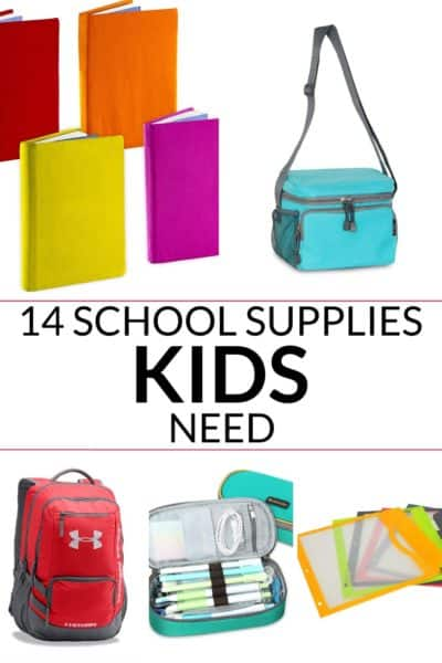 an awesome collection of 14 cool school supplies every kid needs