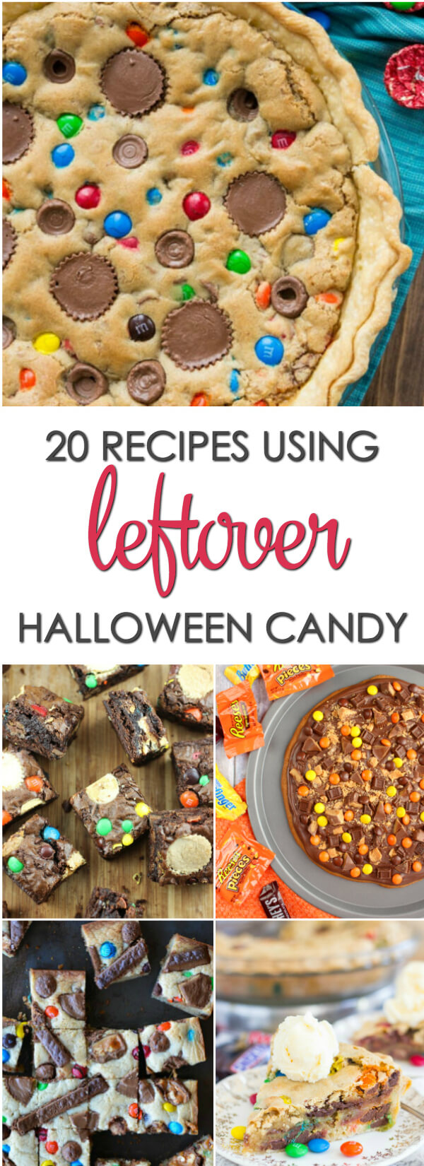 20 of the best recipes using leftover Halloween candy