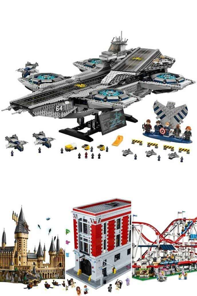Collection of big lego sets