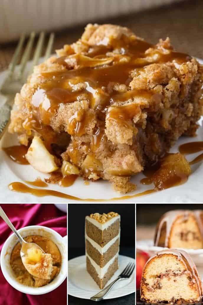 A collection of easy apple cake recipes