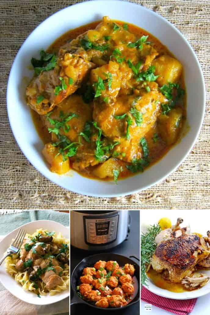 COLLECTION OF instant pot chicken THIGH recipes